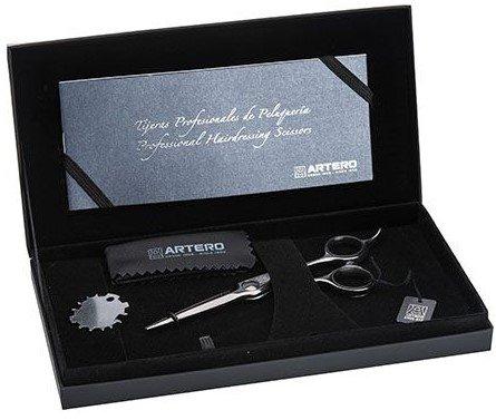 "Ножиці перукарські прямі Artero Evo Black Titanium 5.5"" Т44855, фото _ab__is.image_number.default"