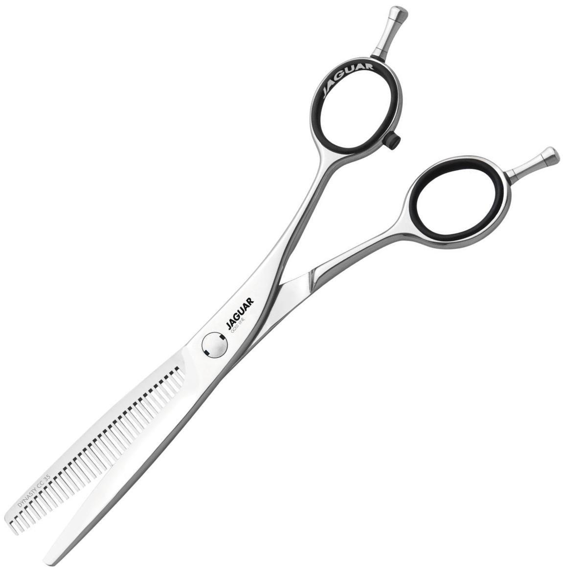 Ножницы парикмахерские филировочные Jaguar Dynasty CC 35.