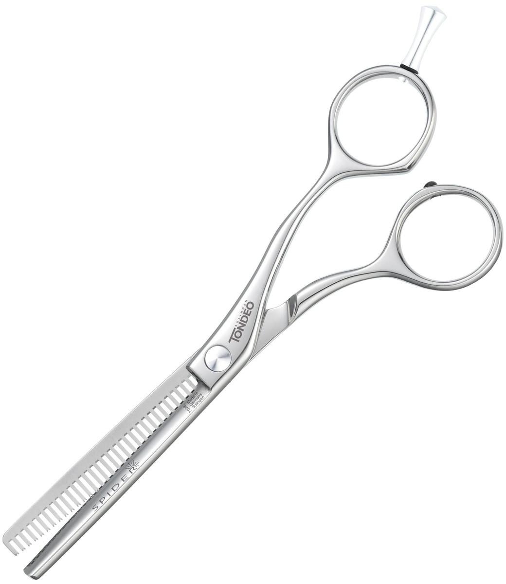 """Ножницы парикмахерскиефилировочные Tondeo Spider Shine Offset 5.25"""" Effi."""
