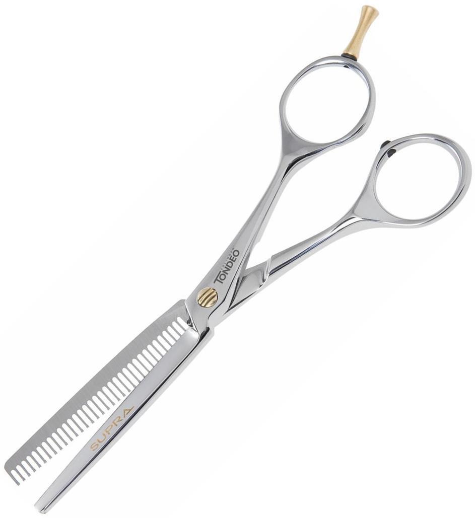 """Ножницы парикмахерские филировочные Tondeo Supra Classic Tulip 42 5.75""""."""