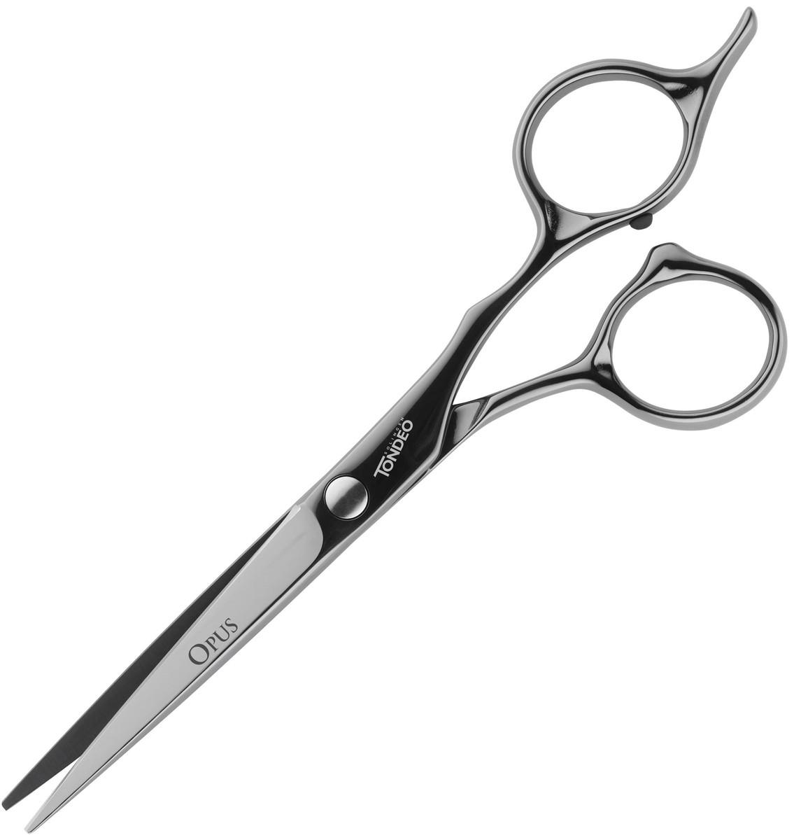 """Ножницы парикмахерские Tondeo Opus Black Offset 5.5""""."""