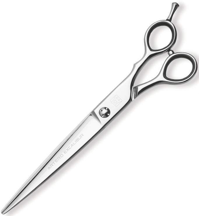 """Ножиці перукарські прямі Artero Excalibur 7.5"""" T34675, фото"""