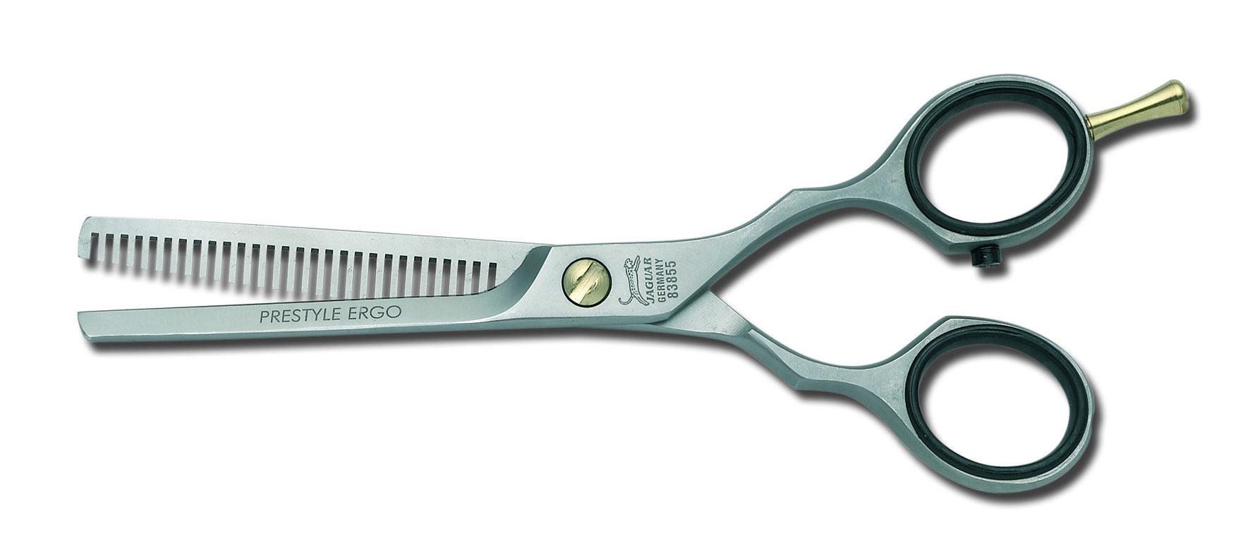Ножницы парикмахерские филировочные Prestyle Jaguar Ergo, изображение 2.