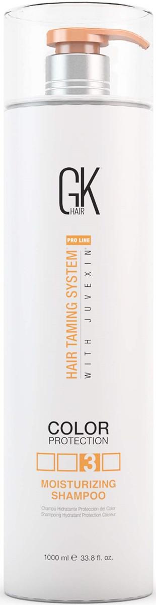 Увлажняющий шампунь с кератином Global Keratin Moisturizing Shampoo, изображение 3.