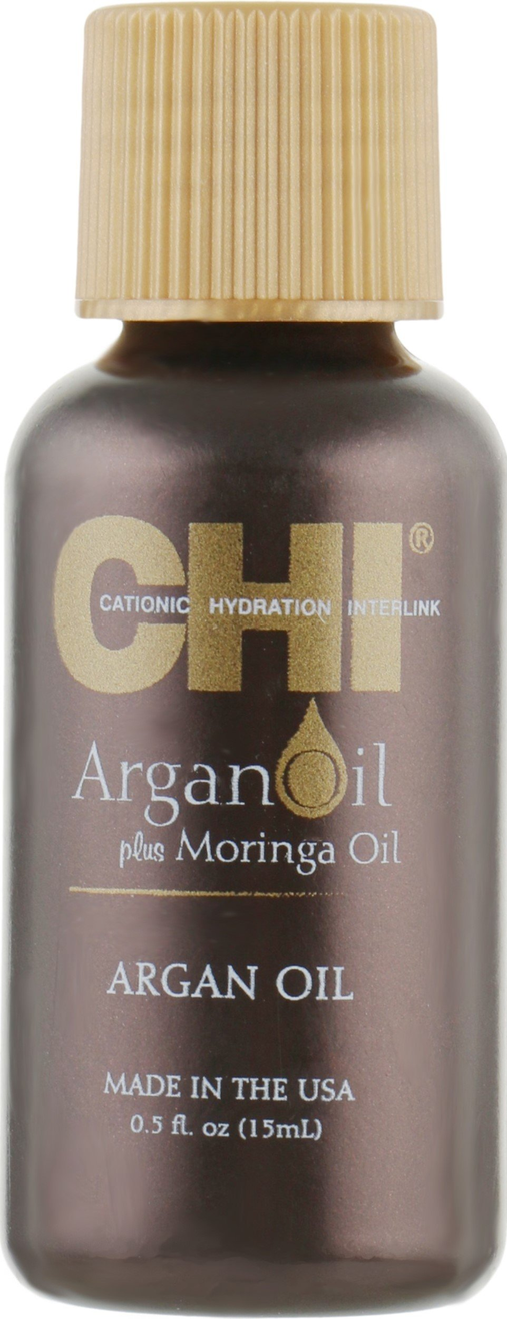 Восстанавливающее аргановое масло CHI Argan Oil.