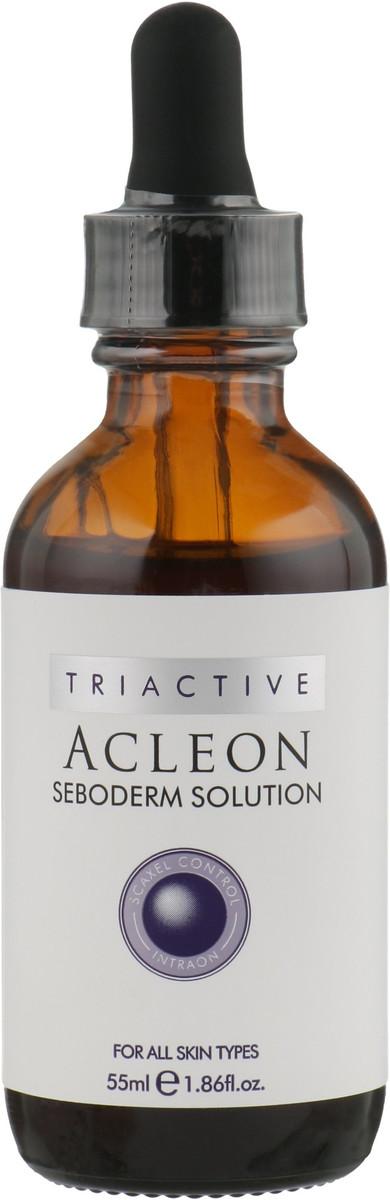Высококонцентрированная сыворотка с увлажняющим и укрепляющим эффектом Anacis Acleon Seboderm Solution Serum, 55 ml.