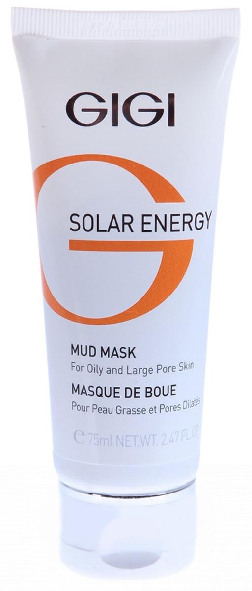 Грязевая маска Gigi Solar Energy Mud Mask For Oil Skin, изображение 4.