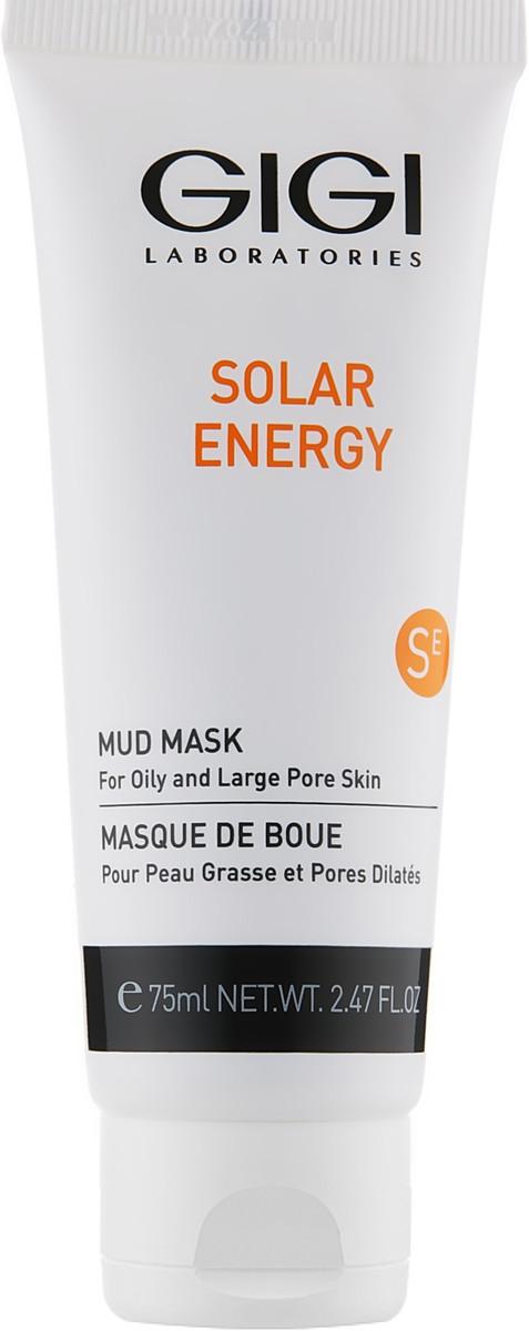 Грязевая маска Gigi Solar Energy Mud Mask For Oil Skin.