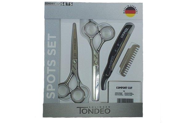 Tondeo Набір ножиць Spots Slice Offset 5.5 Set, фото