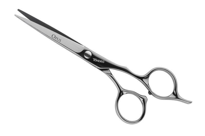 """Ножницы парикмахерские Tondeo Opus Black Offset 5.5"""", изображение 2."""