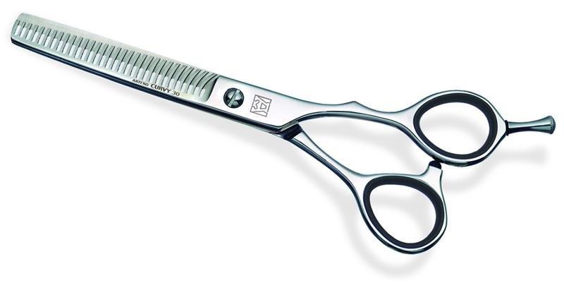 """Ножницы парикмахерские филировочные Artero Curvy 30 6.0"""" T445060, изображение 2."""